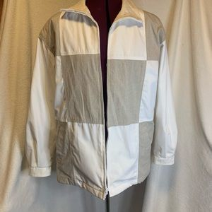 Vintage color blocked jacket size small